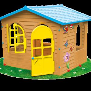 Plastikiniai žaidimų nameliai buitiniam naudojimui