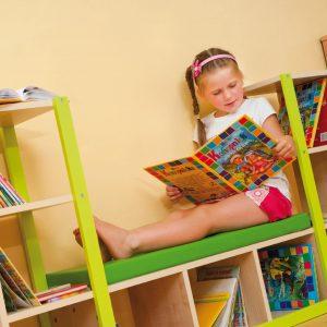 Baldai vaikiškai bibliotekelei
